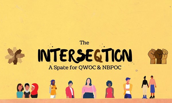 The InterseQtion: A Space for Queer Women of Color and Non-Binary People of Color (Virtual)