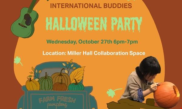 International Buddies Halloween Party!