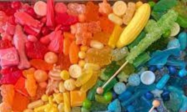 Rainbow Dessert Bar