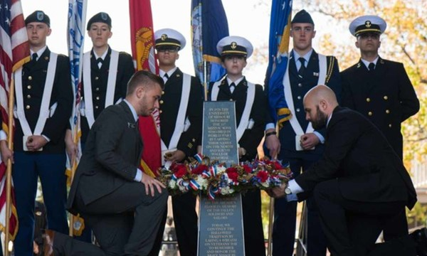 Wreath Laying and Reception