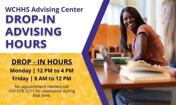 Drop-In Advising Hours