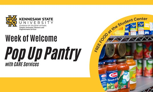 WoW: Pop Up Pantry with CARES!