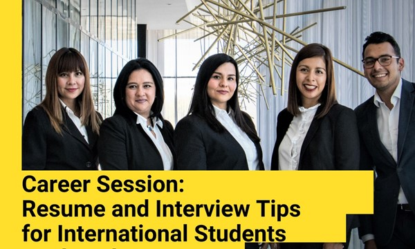 Career Session: Resume and Interview Tips for Internationals