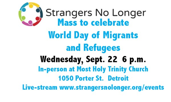 Mass for World Day of Migrants and Refugees