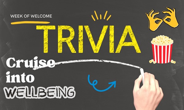 Cruise into Wellbeing: Trivia + Study Snacks