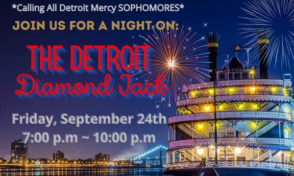 Sophomore Detroit Boat Cruise