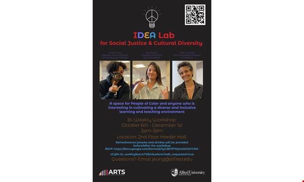IDEA Lab: for Social Justice & Cultural Diversity event image